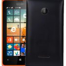 Solid Color Battery Back Cover for Microsoft Lumia 532(Black)