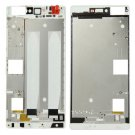 Front Housing LCD Frame Bezel Plate Replacement for Huawei P8(White)