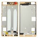 Front Housing LCD Frame Bezel Plate Replacement for Huawei P8(Gold)