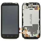 LCD Screen + Touch Screen Digitizer Assembly with Frame for HTC G14(Black)