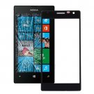 Nokia Lumia 730 Front Screen Outer Glass Lens(Black)