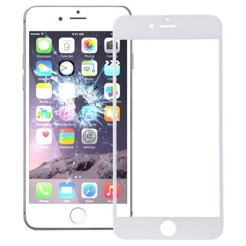 iPhone 7 Plus Front Screen Outer Glass Lens(White)