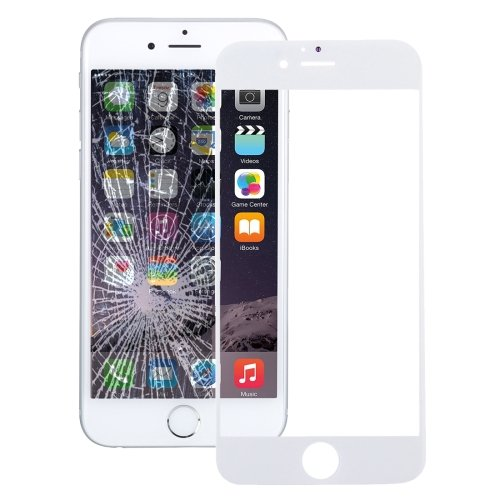 iPhone 7 Front Screen Outer Glass Lens(White)