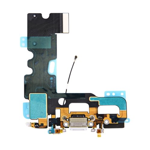 iPhone 7 Charging Port + Audio Flex Cable(White)
