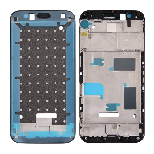 Huawei G8 Front Housing Screen Frame Bezel(Black)
