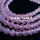 "1 strand 15"" or 370mm pink crystal beads, 6mm 1/5"" for jewellery making"