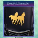 Wild Horse Decal Sticker Bumpersticker Animals