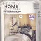 McCall's 686 Home Decorating Bedroom Essentials Uncut FF