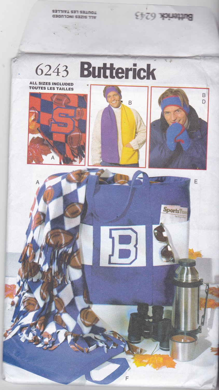 Butterick 6243 Pattern Uncut FF Sports Accessories