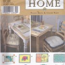 Simplicity 8696 pattern Home Decor Place Mats Chair Pads Uncut FF