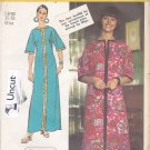 Simplicity 5740 Pattern Uncut Large 16 18 Super Jiffy Caftan Kimono Sleeves Dress