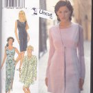 Style 2573 Pattern Uncut FF 6 8 10 12 14 16 Sleeveless Dress Tie Jacket Empire Waist