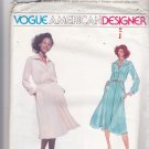 Vogue 1829 Pattern Uncut FF 14 American Designer Jerry Silverman Shirtwaist Dress