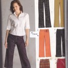Simplicity New Look 6510 Pattern Uncut 10 12 14 16 18 20 22 Pants Capri Pants Skirt Easy to Sew
