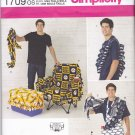 Simplicity 1709 Pattern Uncut FF Tailgating Boozehound Accessories