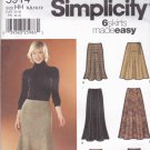 Simplicity 5914 Pattern Uncut FF 6 8 10 12 Fit and Flare Skirt Designs by Karen Z