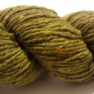Tahki Donegal Tweed Wool Yarn 3.5 oz. (100 g) Color 0846 Light Olive Green with Flecks