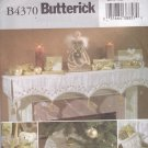 Butterick B4370 Crafts Pattern Uncut FF Victorian Christmas Decorations Holiday Decor