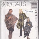 McCall 7875 Pattern 12 14 Medium 34 36 Uncut Loose Fit Jacket Draped Collar Skirt Pants