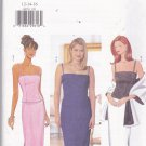 Butterick 6070 Pattern 12 14 16 Uncut Lined Fitted Top Long Skirt Stole Wrap Evening Prom Wedding