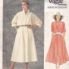Vogue 1351 Pattern 8 Uncut Designer ADRI Shirtwaist Dress Loose Fit Modest