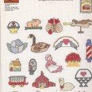 Graphworks Mini Motif Designs Folk Art leaflet 24 Counted Cross Stitch