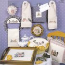 Sarah Jane's Tea Party Counted Cross Stitch CL61 leaflet