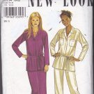 Simplicity New Look 6885 Pattern 10 12 14 16 18 20 22 Uncut Belted Hip Length Top Pants Skirt