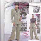 Vogue Attitudes 1954 Pattern Uncut 12 14 16 Lined Belted Jacket Wide Leg Pants Mariot Chanet