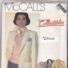 McCall's 2088 Pattern 8 Bust 31.5 Uncut Easy Fit Lined Jacket Blazer