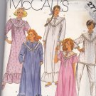 McCall's 2778 Pattern XS 6 8 Bust 30.5 31.5 Uncut Bathrobe Nightgown Pajamas Robe PJs Romantic