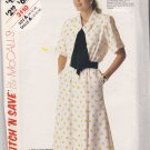 McCall's Stitch N Save 3110 Pattern 10 12 14 Bust 32 34 36 Uncut Dress