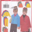 Butterick 5648 Pattern Uncut 2 3 4 5 Girls Separates Jacket Pants Top Skirt