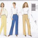 Butterick 5734 Pattern 14 16 18 Uncut Straight or Wide Leg Pants Easy to Sew
