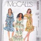 McCall's M 5805 Pattern 6 8 10 12 14 Uncut Boho Dresses Laura Ashley