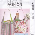 McCall's M6297 Pattern Uncut Tote Bags Shopping Grocery Market Bag