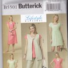 Butterick B5501 Pattern 16 18 20 22 24 Uncut Vest Top Dress Pants Plus Very Easy