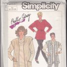 Simplicity 7762 Pattern 16 18 20 Uncut Jiffy Knit Dress Top Pants Vest Cowl Phyllis Sidney