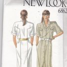 Simplicity New Look 6862 Pattern 8 10 12 14 16 18 Uncut Straight Dress Button Front