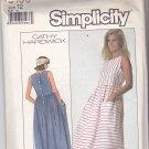 Simplicity 8136 Pattern 12 Uncut Loose Fitting Dress Raised Waistline Cathy Hardwick