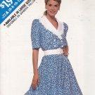 Butterick See & Sew 3274 Pattern 6 8 10 12 14 Uncut Flared Skirt Shirtwaist Dress Modest