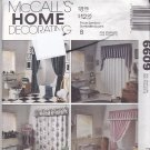McCall's Home Decorating 6609 Pattern Uncut Bathroom Essentials