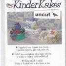 Kinder Kakes Pattern 9511 Uncut Baby Shower Gift DIY Diaper Towel Blanket Cake