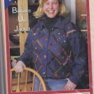 Buttons Up Jacket Pattern all sizes xs s m l xl Uncut Quilted Closet Patchwork Wearable Art