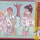 Butterick 4152 Pattern Uncut 4 5 6 Jumpsuit Jumper Girls Children Kids Toddlers Ruffle