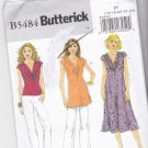 Butterick B 5484 Pattern uncut 16 18 20 22 24 Twist-Look Top Tunic Dress