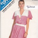 Butterick See & Sew 6163 Pattern Uncut 6 8 10 12 14 Flared Dress Mid Calf