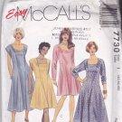 McCall's 7730 Pattern Uncut 42 44 46 bust 46 48 50 Princess Seam Dress Plus
