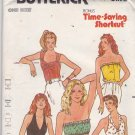 Butterick 6573 Pattern Uncut S M L (bust 31.5-40) Tube Sweetheart Halter Tops