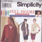 Simplicity 9122 Pattern Uncut 26W 28W 30W 32W Separates Mary Duffy HOAX System